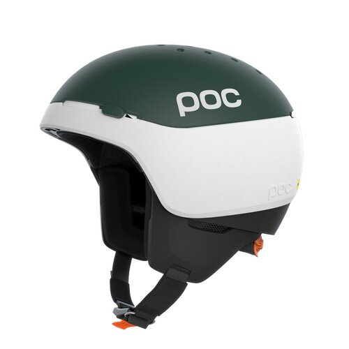 POC Meninx RS MIPS Hydrogen White/Moldanite Green Matt