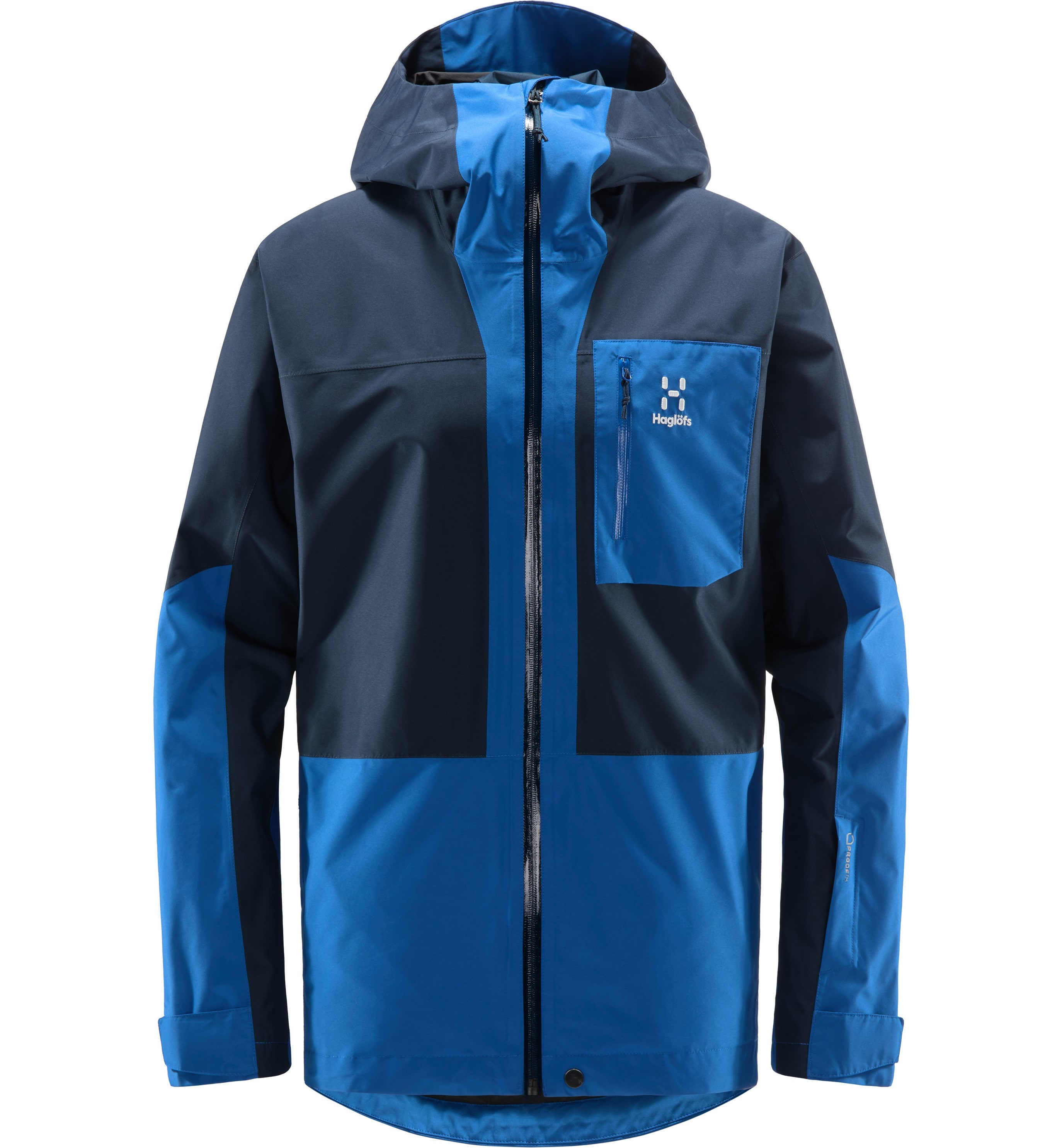 Haglöfs Lumi Jacket Men Tarn Blue/Storm Blue