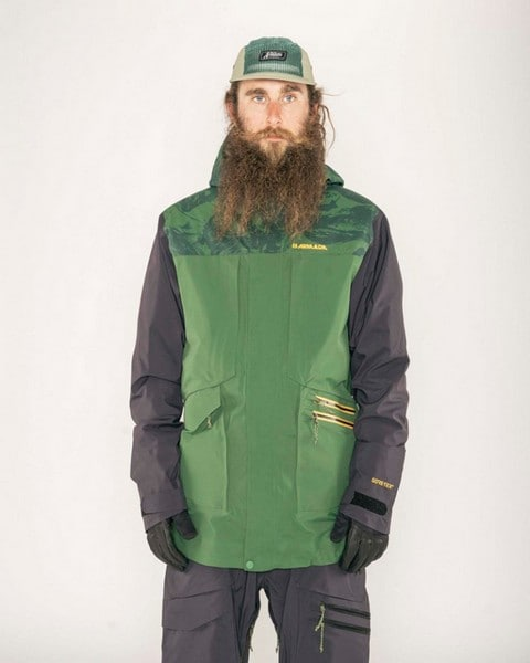 Armada Lifted Gore-Tex Jkt Forest Green