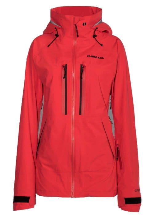 Armada Resolution GTX 3L Jacket Hot Coral