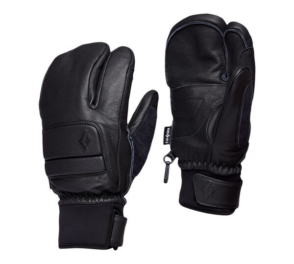 Black Diamond Spark Finger Gloves Smoke