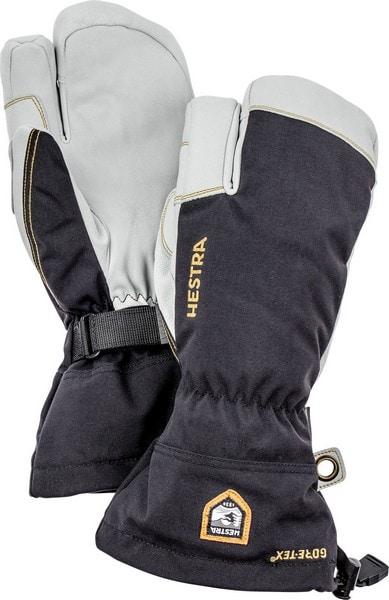 Hestra Army Leather Gore-Tex 3 finger Svart